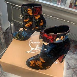 Christian louboutin boots rare find , beautiful